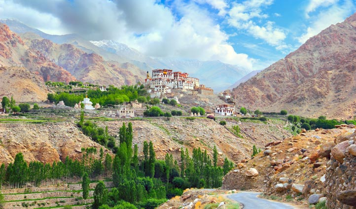 The breathtaking scenery of Ladakh