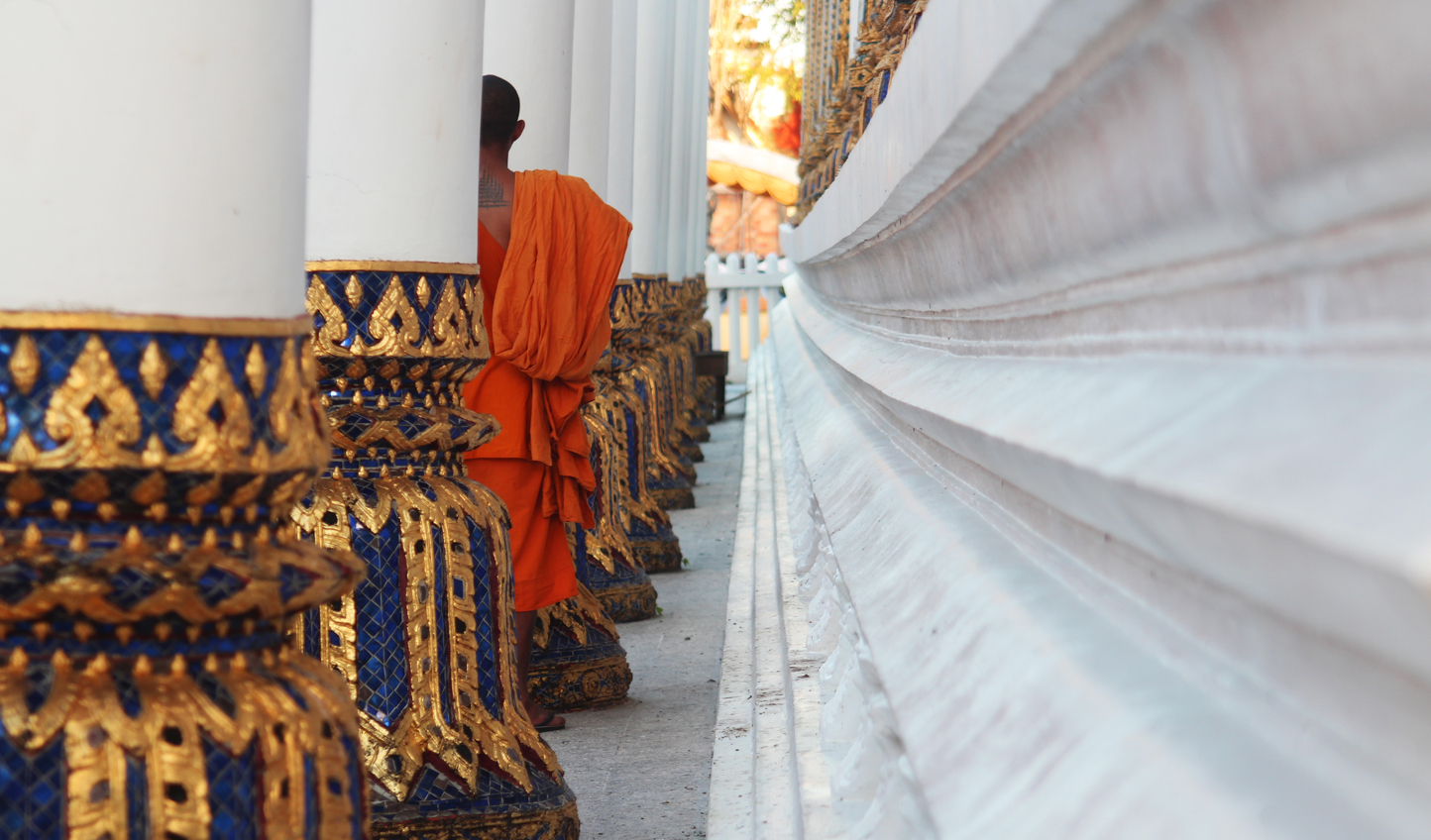 Wander through temples and discover Buddhist heritage