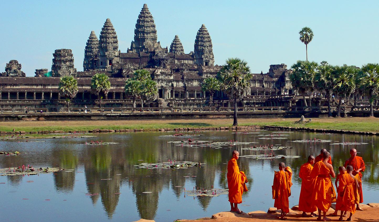 Embrace Cambodian heritage at Angkor Wat