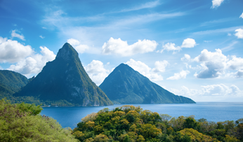 The Piton Mountains St Lucia