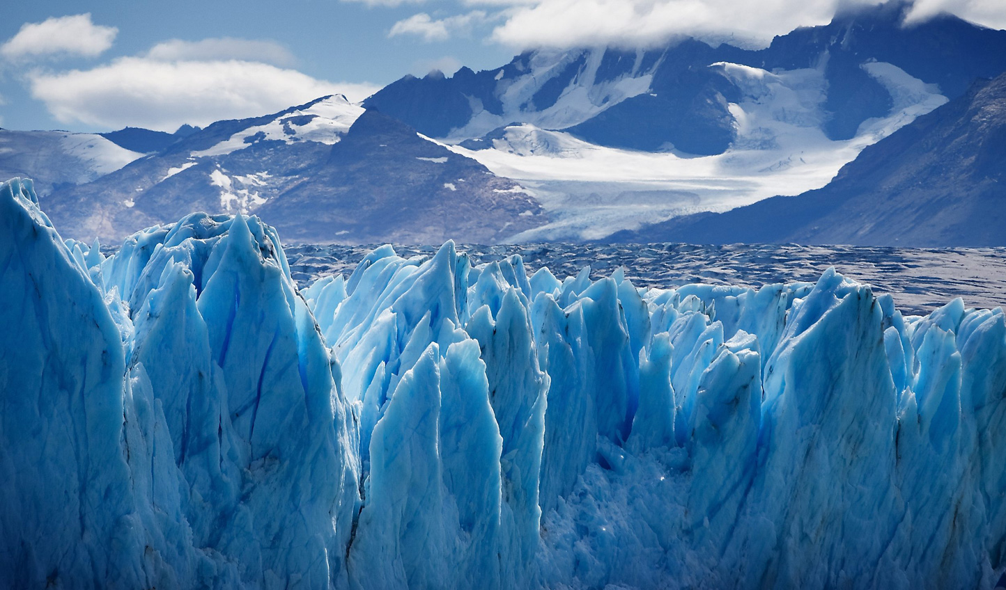 Marvel at the jagged glaciers of Patagonia
