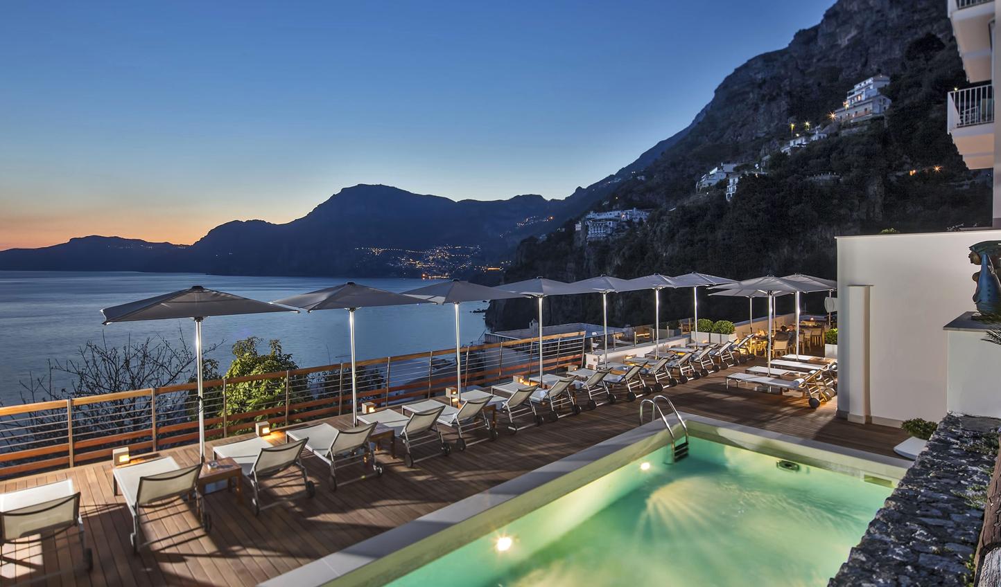 Stunning views over Amalfi