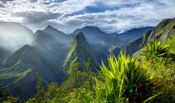 Cirque-de-Mafate-caldera - Reunion Island
