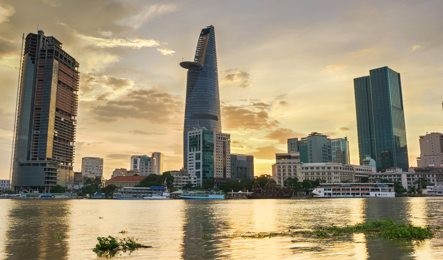 Discover the bright lights of Saigon