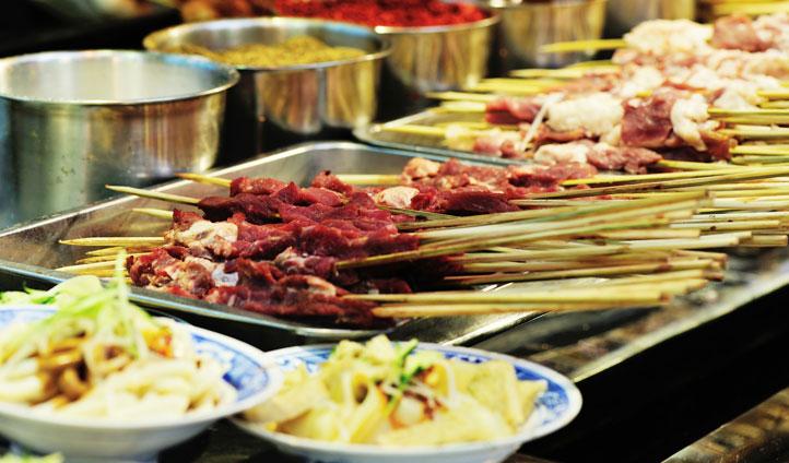 Sichuan street food, China