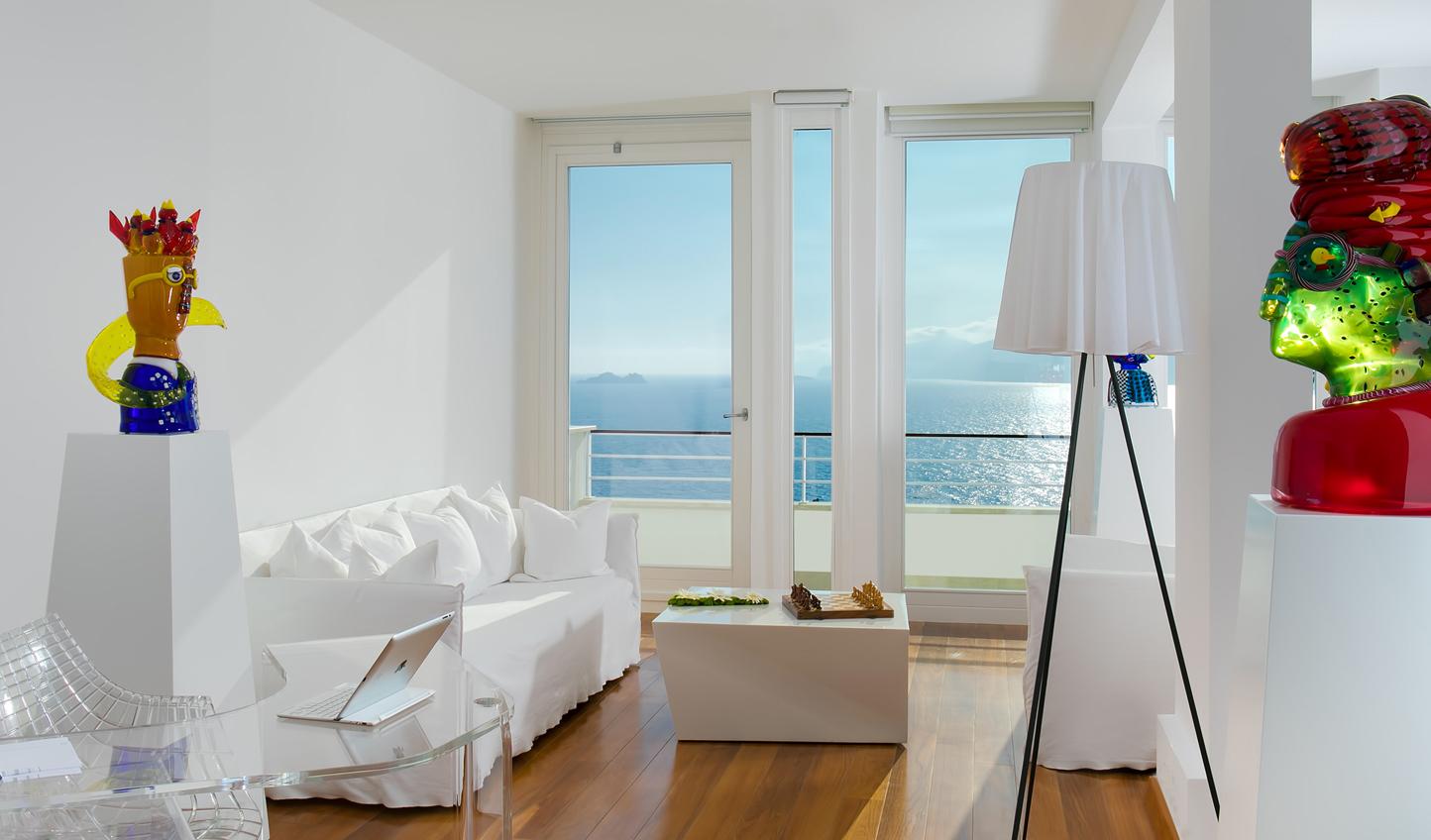 The stylish interiors at Casa Angelina