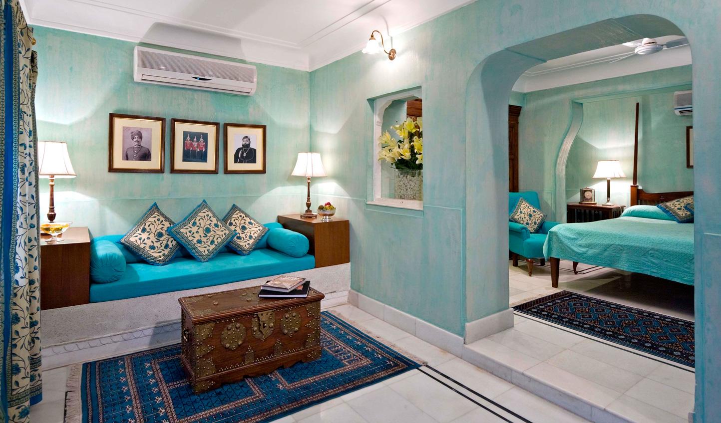 Individual design runs through each guest room