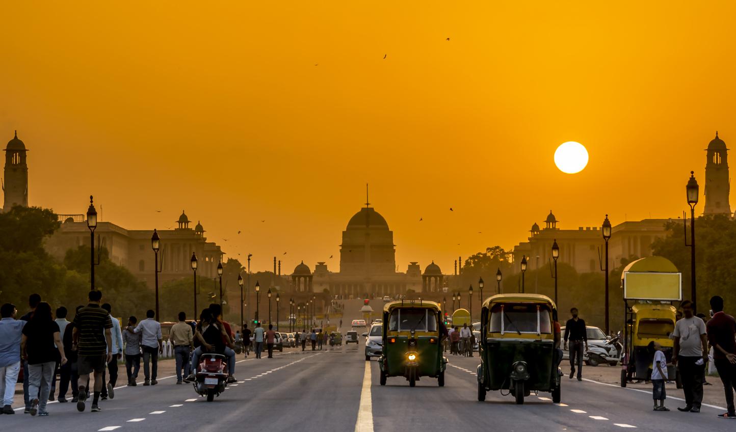 Tuk tuk your way through Delhi streets