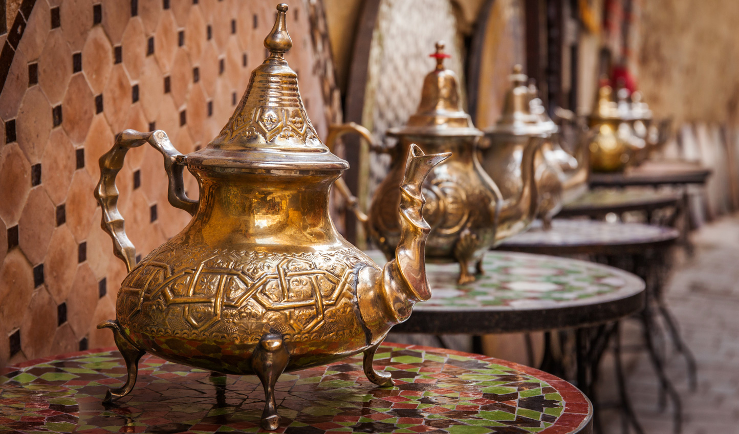 Taste your way through the souk in Fes