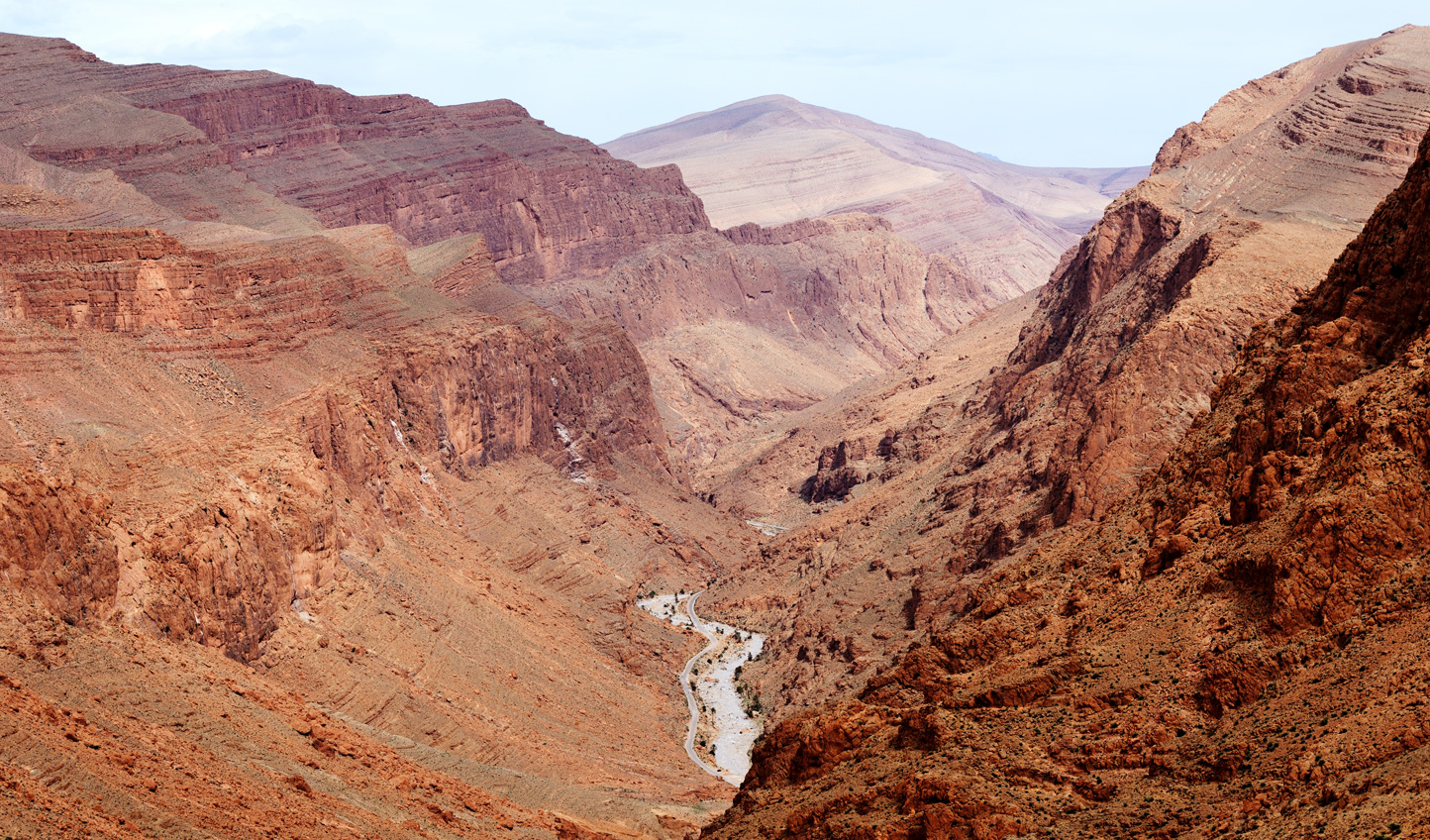 Marvel at the scenery of the Todra Gorge