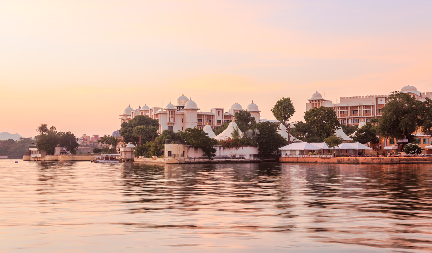 Rest up on the banks of the City of Lakes, Udaipur