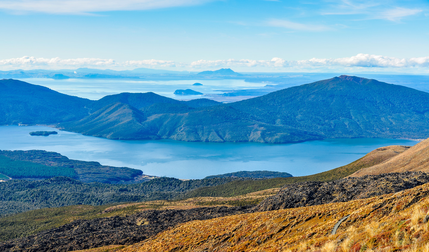 Head out of the city into the natural beauty of Taupo
