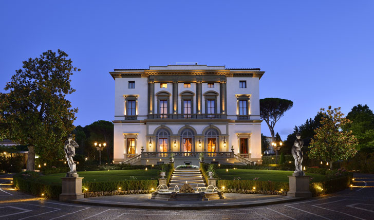 Entrance to Villa Cora, Florence