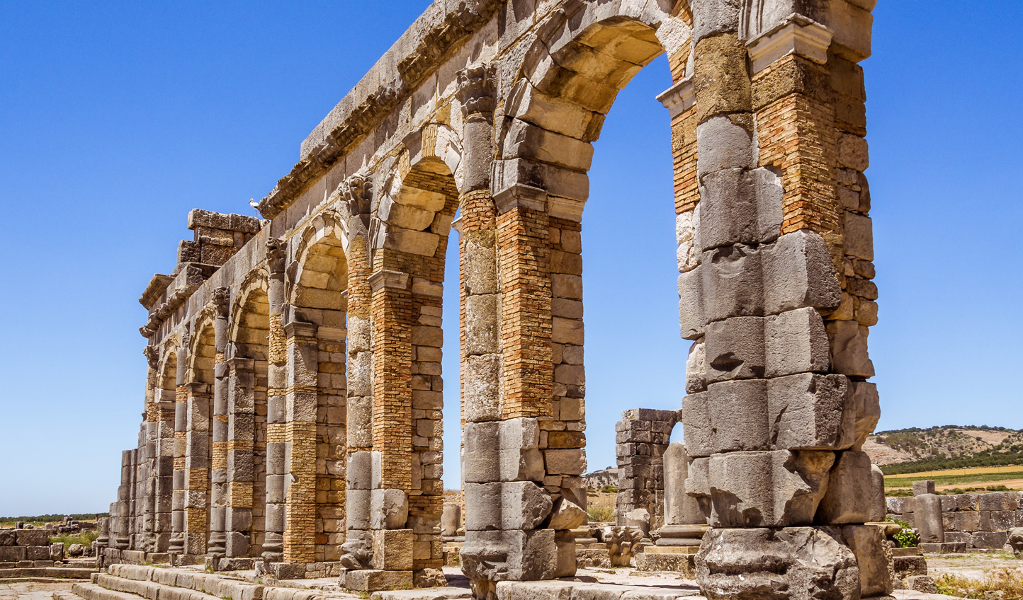 Take a trip out to ancient Volubilis