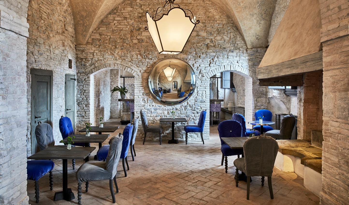 Savour authentic Tuscan cuisine at La Taverna