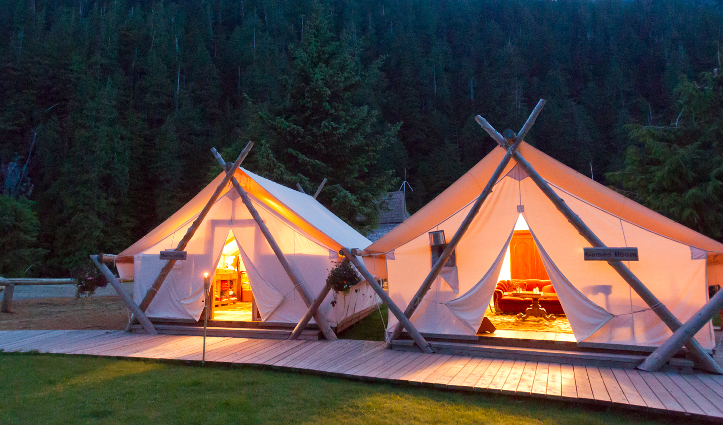 Escape to the wilderness of Clayoquot