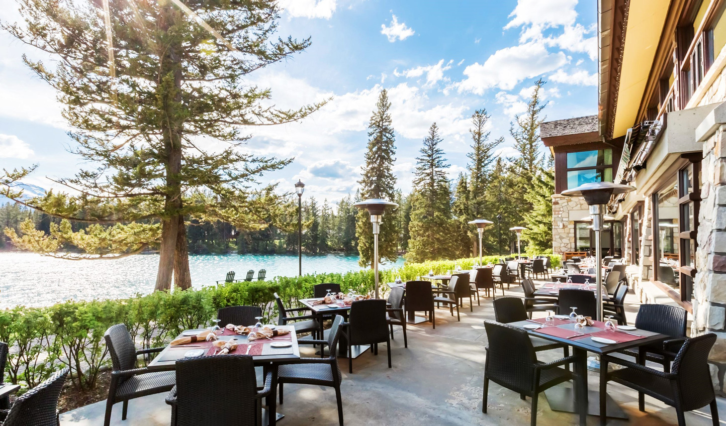 Hideaway amid the Jasper landscapes at Fairmont Jasper Park Lodge