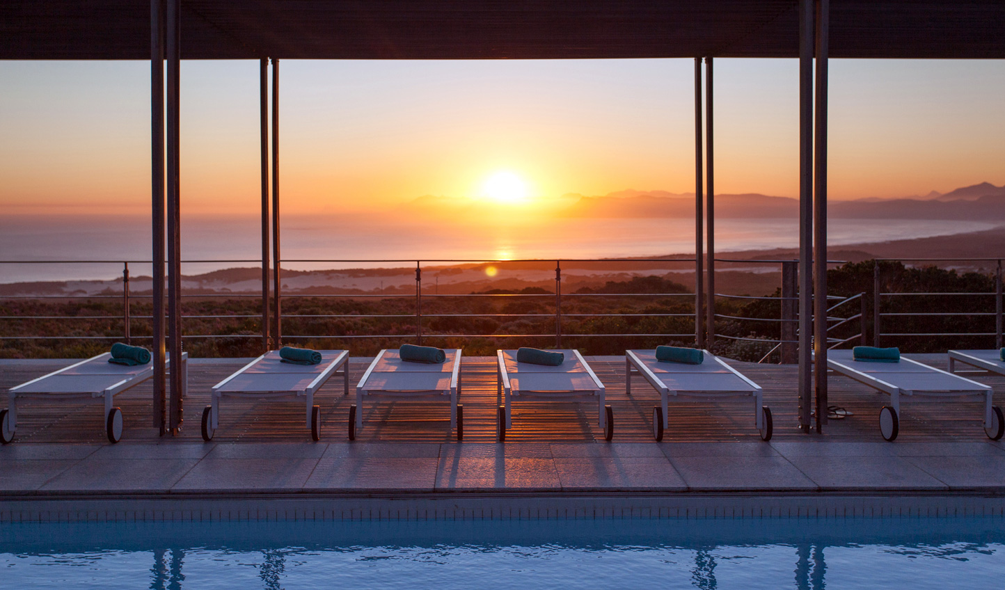 Sunsets are a specialty at Grootbos