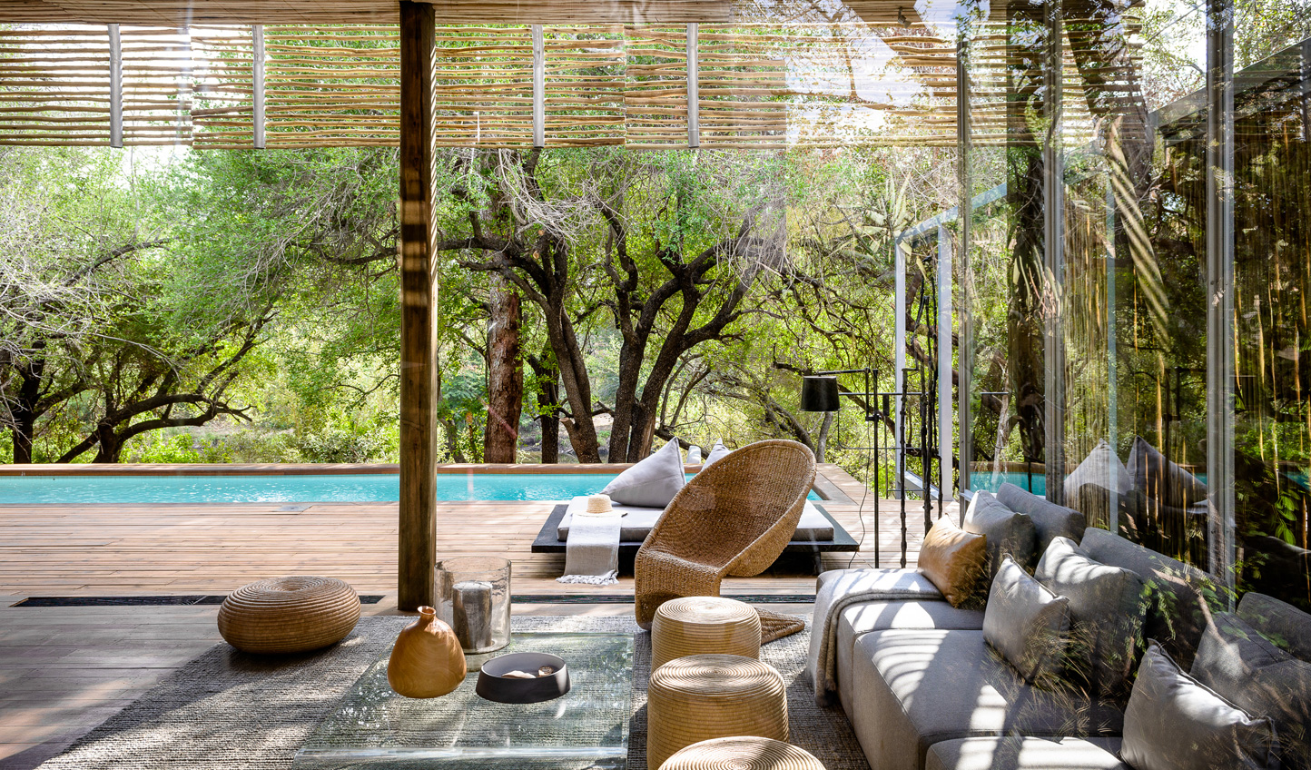 For an African home from home, look no further than the chic villas at Singita Lebombo