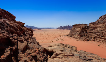 Wadi Rum Desert Jordan Black Tomato