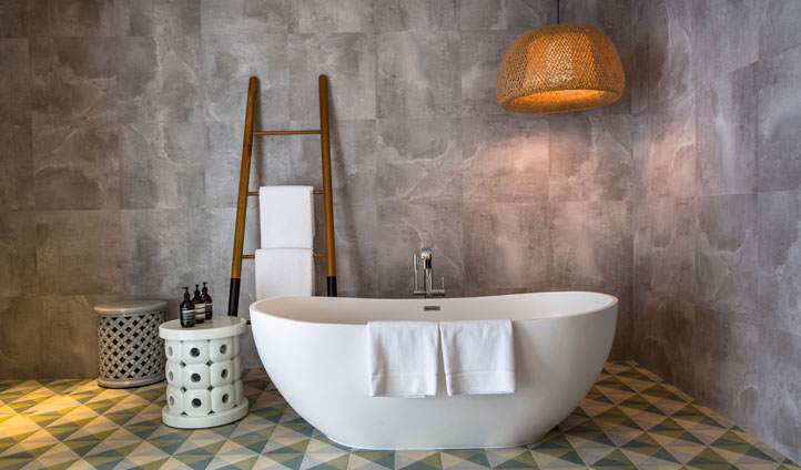 Bathroom Amilla Fushi, the maldives
