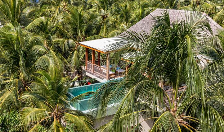 Treehouse, amilla fushi, maldives