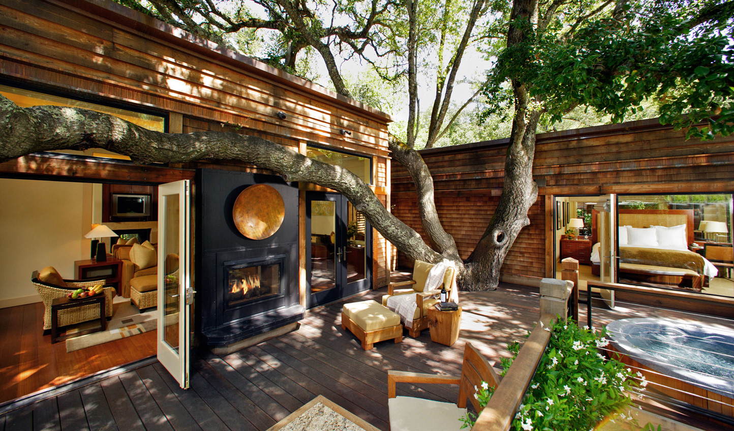 Nestle into an indulgent stay at Calistoga Ranch