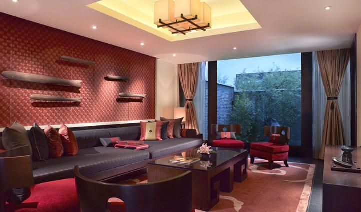 Living Room at Banyan Tree, China