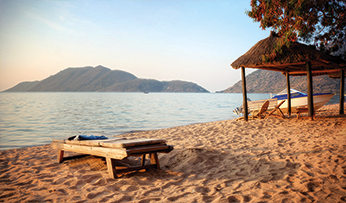 Beach on Lake Malawi