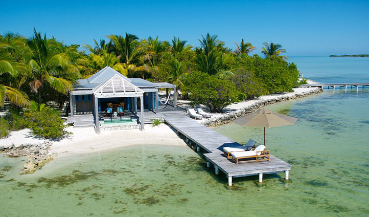 Private Dock, Cayo Espanto, Belize