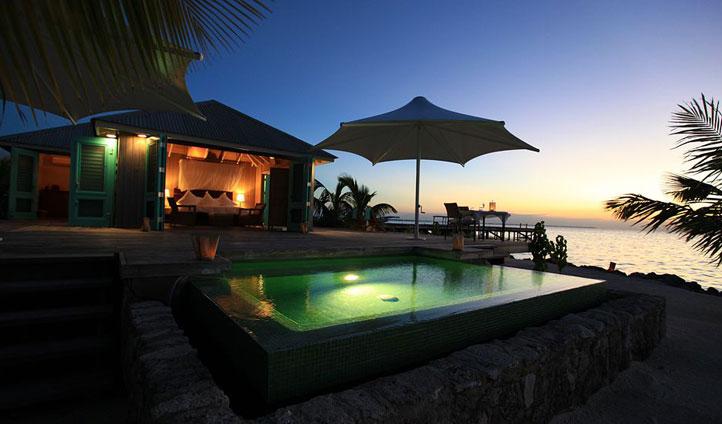 Plunge pool, Casa Espanto, Belize