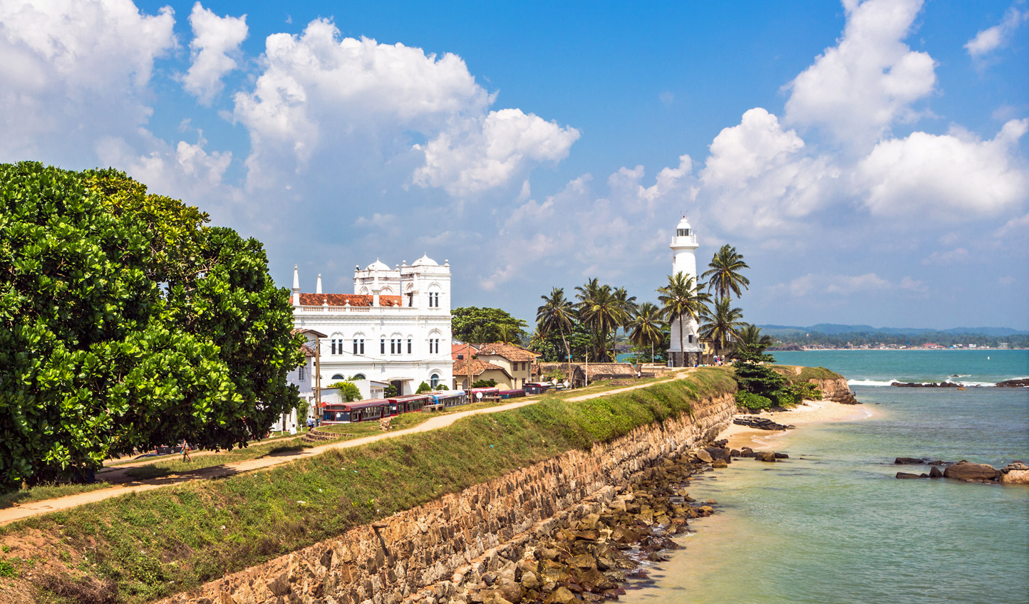 Take a stroll along Galle's fort walls