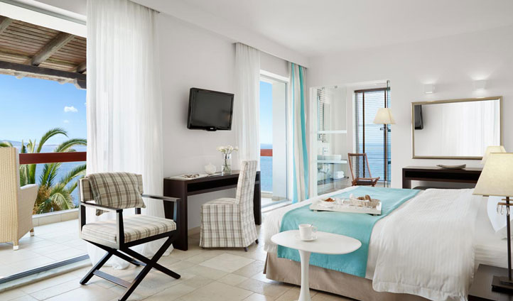 Junior Suite Seaview, Eagles Palace Hotel, Greece