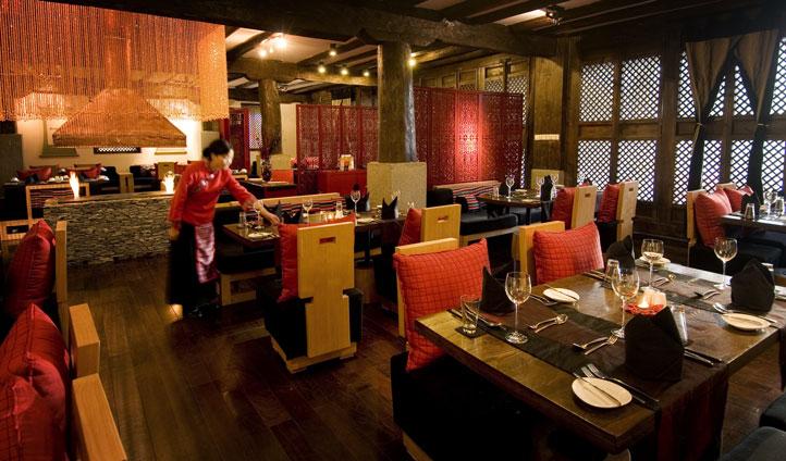 Llamo Restaurant, Banyan Tree Ringha