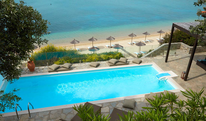 Pool, Eagles Palace, Greece