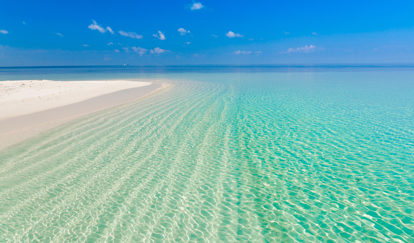Dip your toe in crystal clear waters