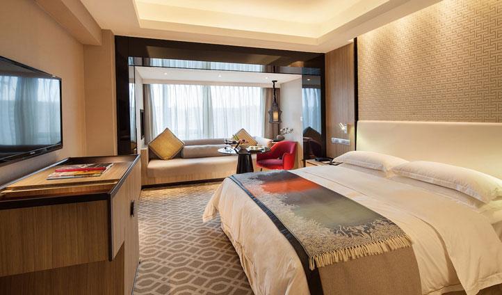 Bedroom, M Hotel, Chendu China