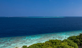 Views in the Maldives
