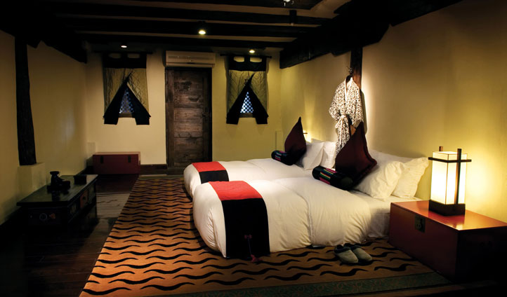 Twin Room, Banyan Tree Ringha