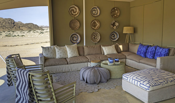 Luxury holidays in the Namibia