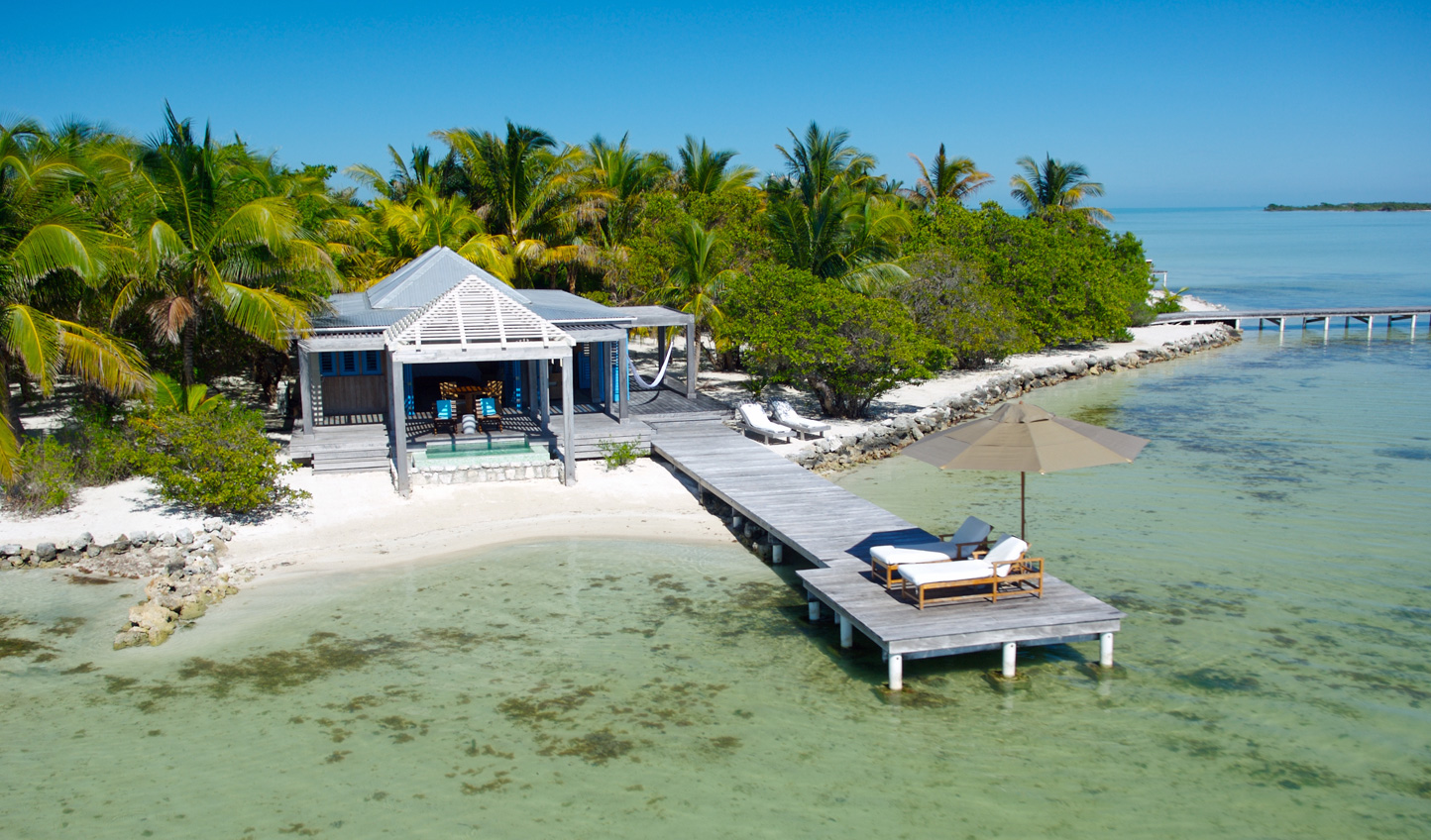Hideaway for a week or more at Cayo Espanto