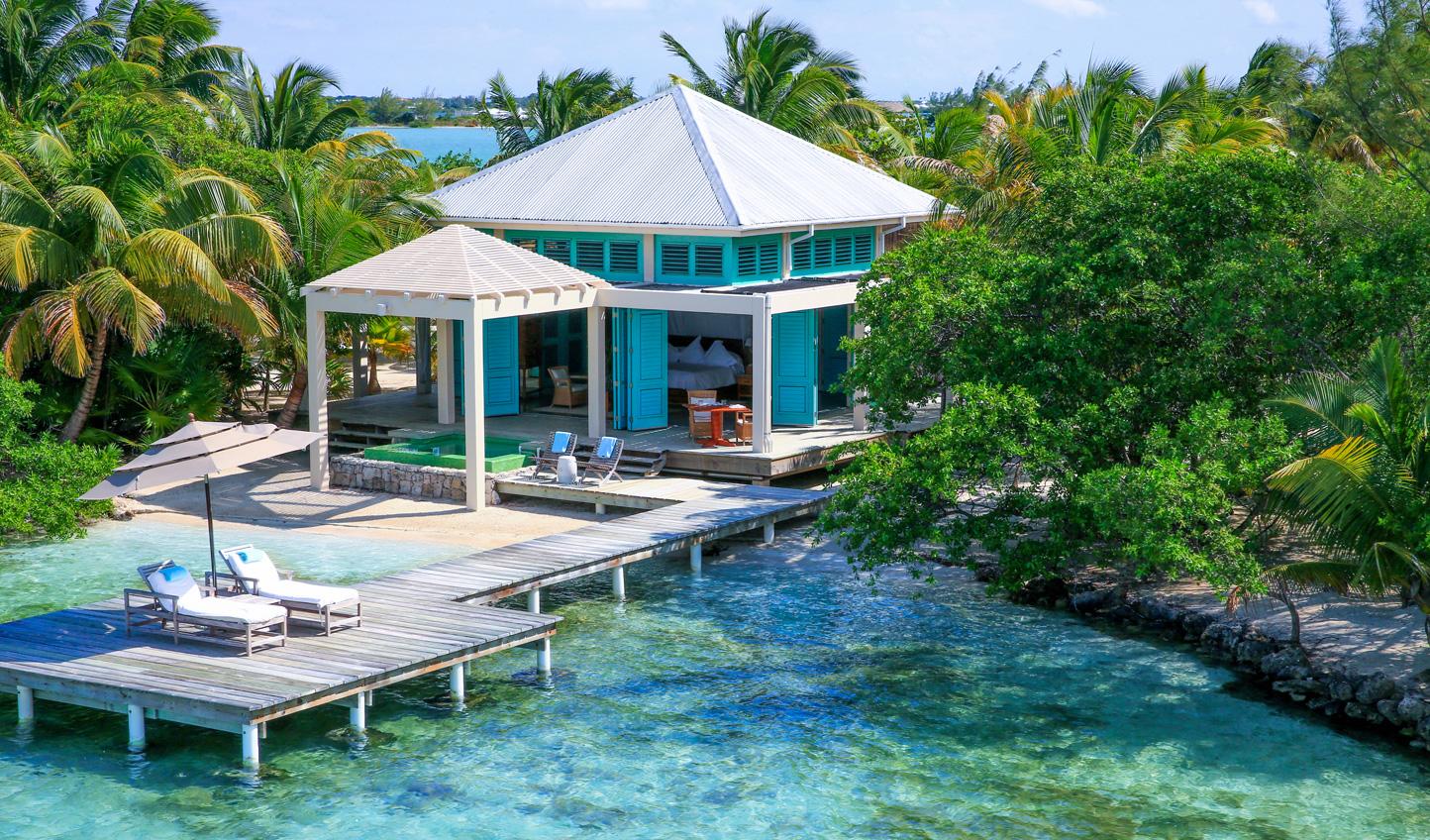 Soak up the sun on the veranda at your beach house