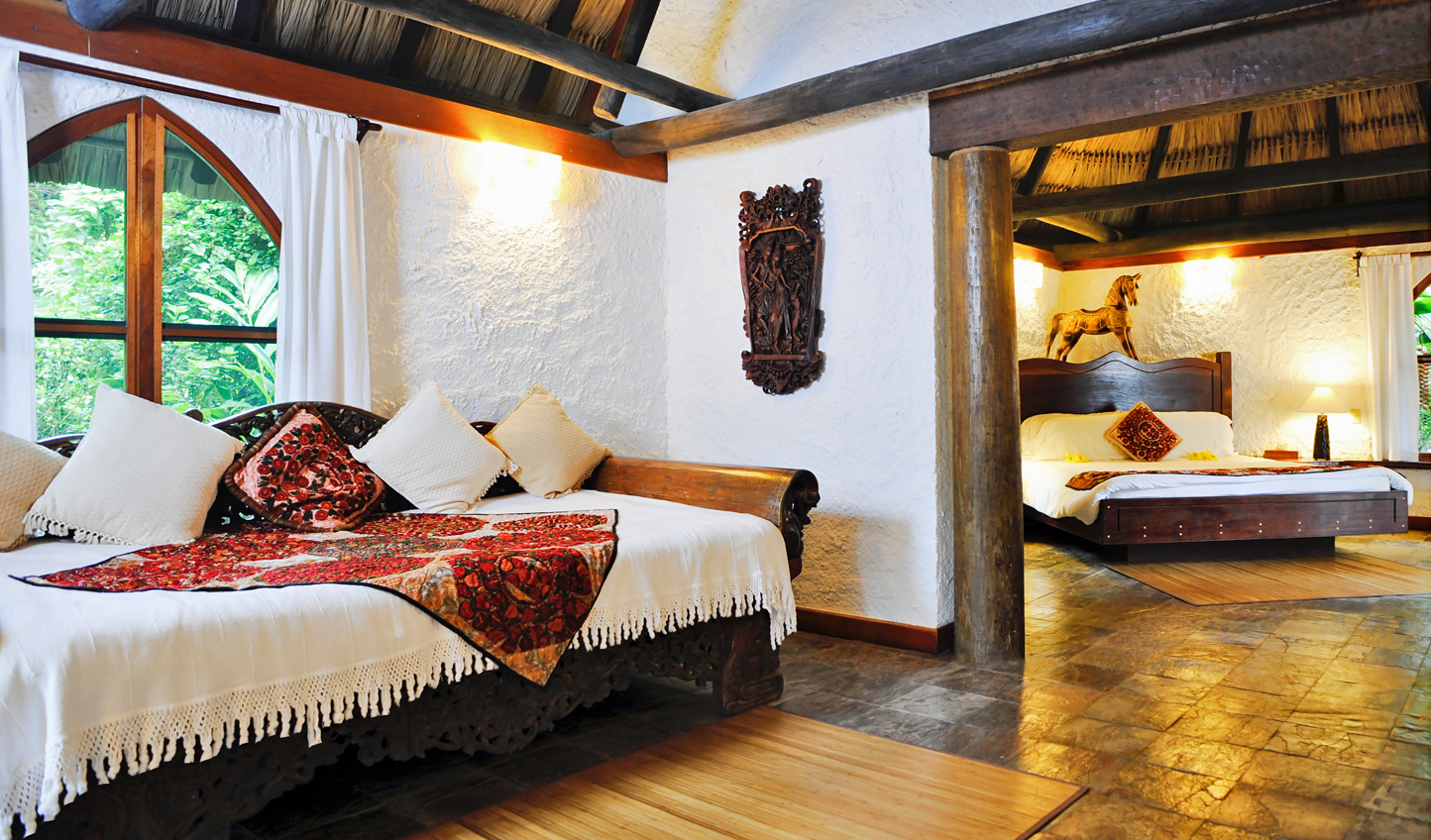 Stay in one of the traditional Macal Cottages