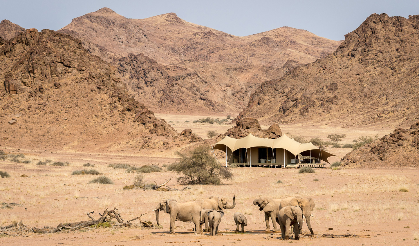 Settle into the wilderness at Hoanib Skeleton Coast Camp