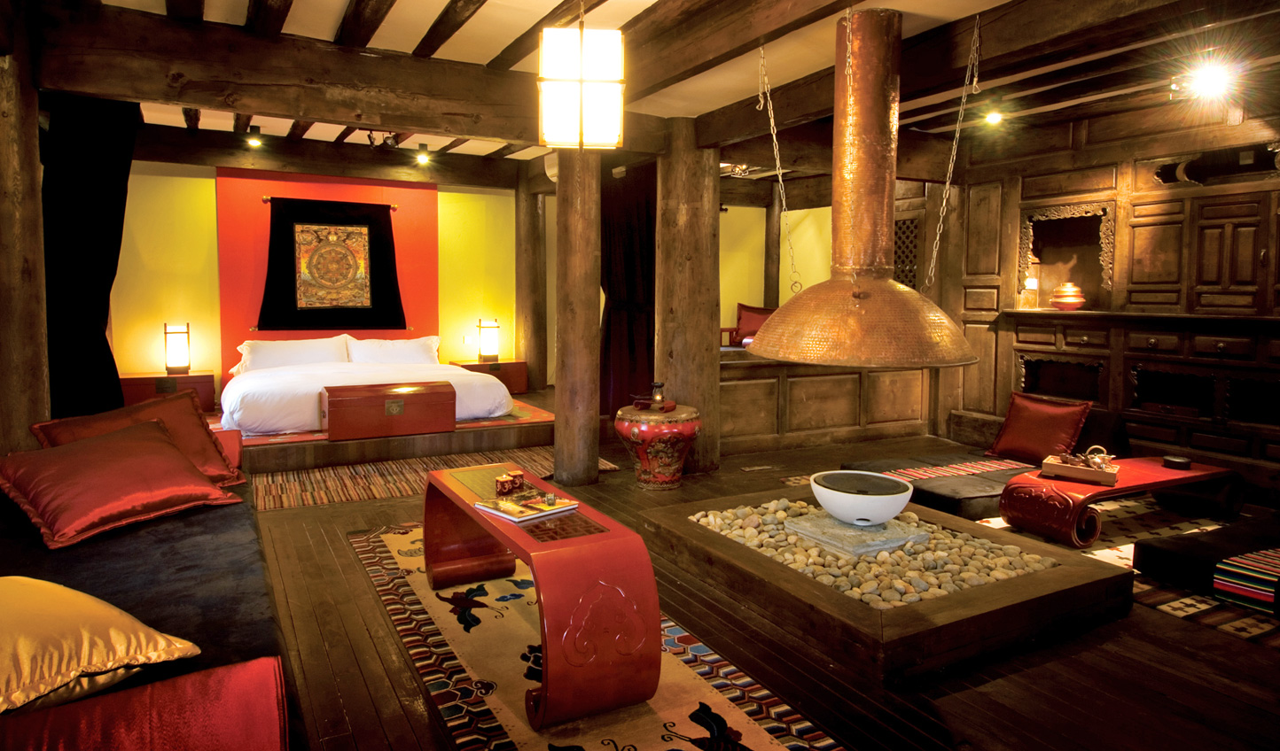 Stay in your very own Tibetan Spa Suite