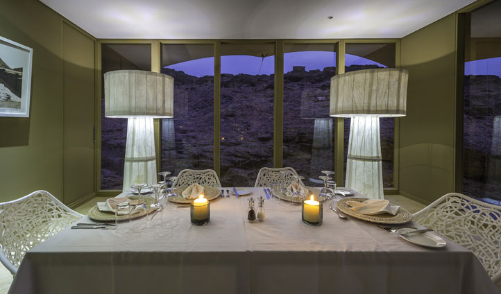 Dining Room, Hoanib Camp, Namibia
