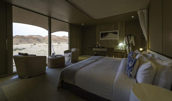 Guest suite, Hoanib Camp, Namibia