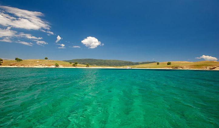 Halkidiki sea, Greece