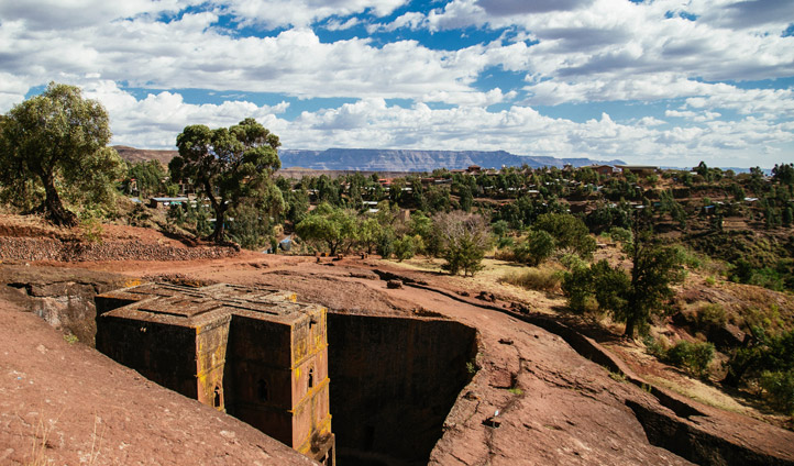 Explore Lalibela from Mount View Hotel