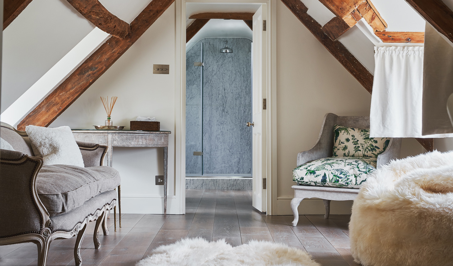 Charming decor creates cosy spaces